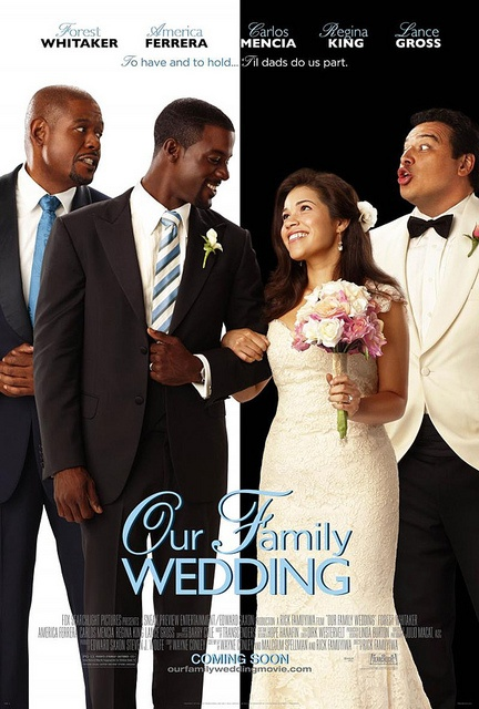 Our Family Wedding movie poster. Believe many people have