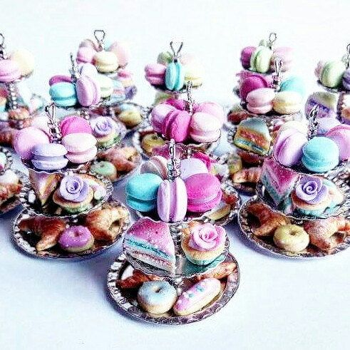 Cake stands necklaces ❤
