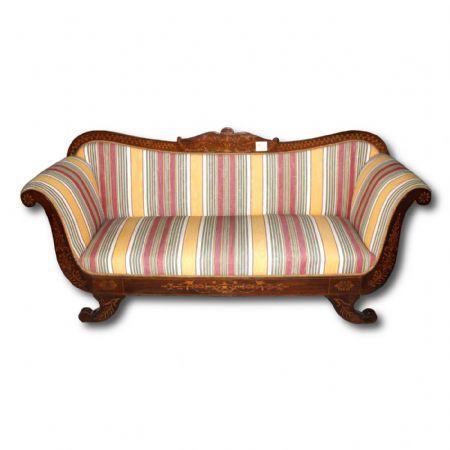 divano antico periodo carlo x Antiquariato su Anticoantico