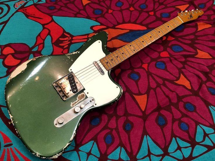 Rock N' Roll Relics JazzBustard #C.Green Metallic / H.Aged(新品/送料無料)【楽器検索デジマート】