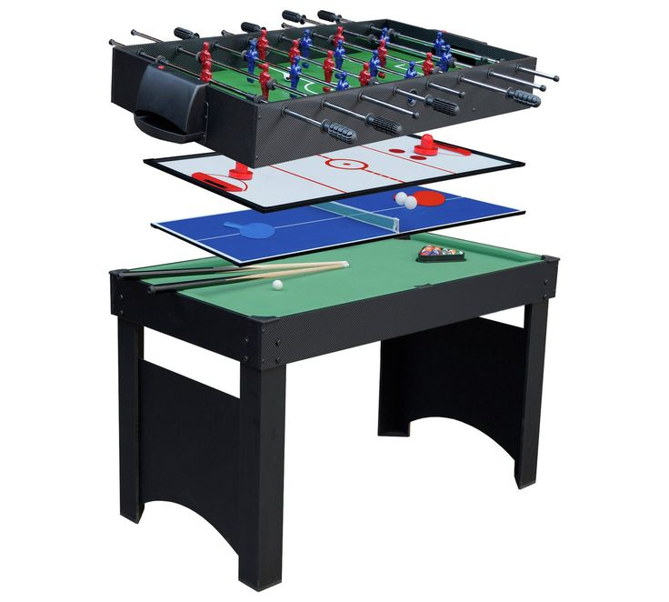 Buy Gamessonm Jupiter 4 in 1 Combo Games Table at Argos.co.uk, visit Argos.co.uk to shop online for Multi games tables, Games tables, Sports and leisure