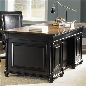 Double Pedestal Desk Store   Sheelyu0027s Furniture U0026 Appliance   Ohio,  Youngstown, Cleveland,