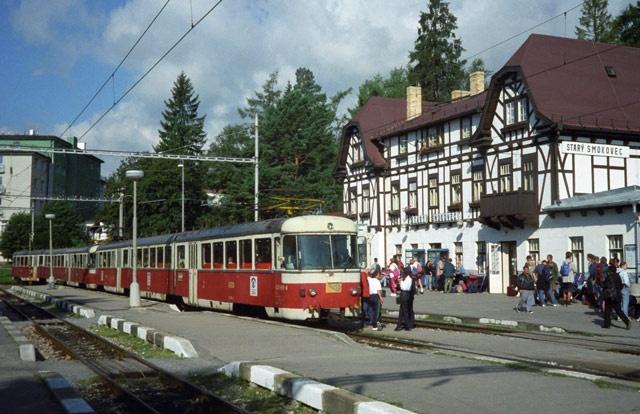 Stary Smokovec, in the High Tatras of Slovakia
