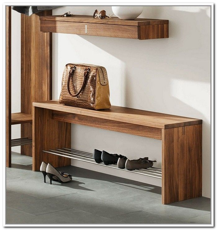 Perfecto Banco De Almacenamiento Con Muebles Contenedores ...