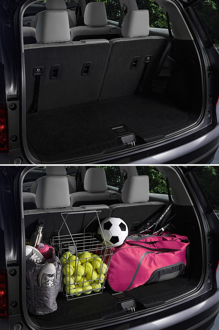 Game on! Driving your kids to their Monday night soccer practice, Tuesday night tennis lessons, Wednesday night football practice and Thursday night dance lessons is better in a 2016 Honda Pilot Elite. It features a roomy trunk and a hidden storage well that's perfect for storing everything your family is into.     Honda reminds you to secure cargo.