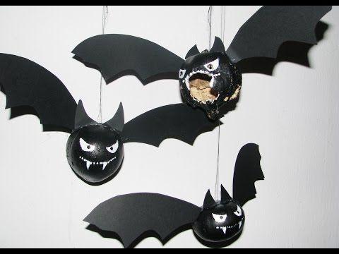 Ideas art for everyone, DIY - Joanna Wajdenfeld: Bats pumpkin