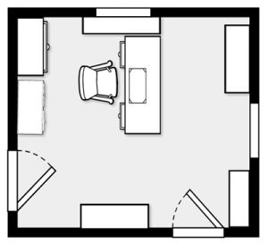 Best 25 office floor plan ideas on pinterest open space for Office space floor plan creator