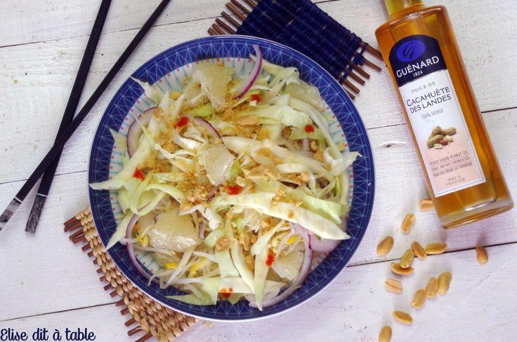 recette SALADE DE CHOU ET PAMPLEMOUSSE CHINOIS