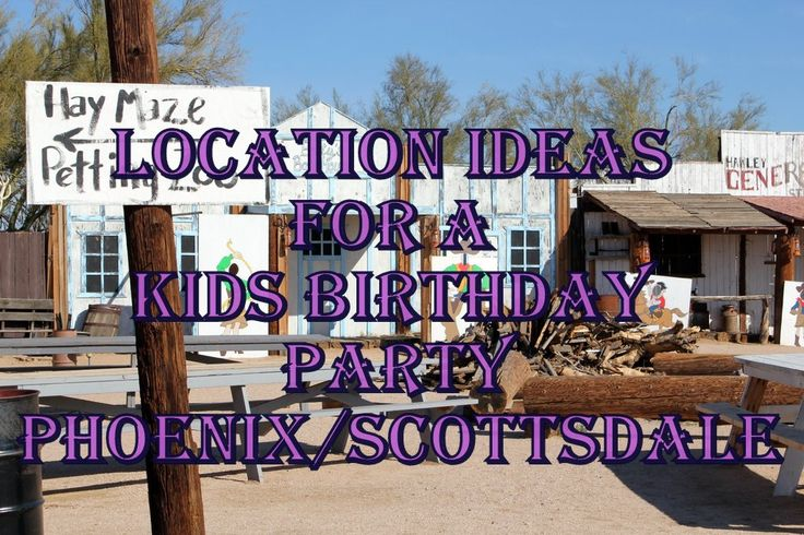 Location Ideas for Kids Birthday Parties