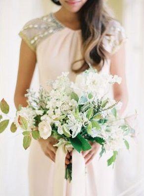 Hochzeitsblumen weiß und grün   – Dream Day