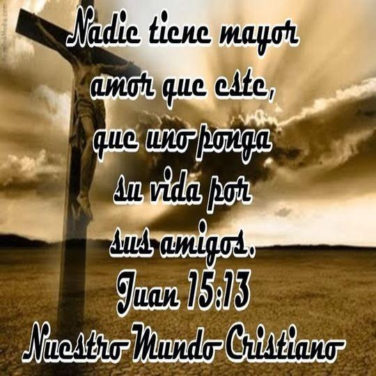 Imágenes Cristianas : JUAN 15:13