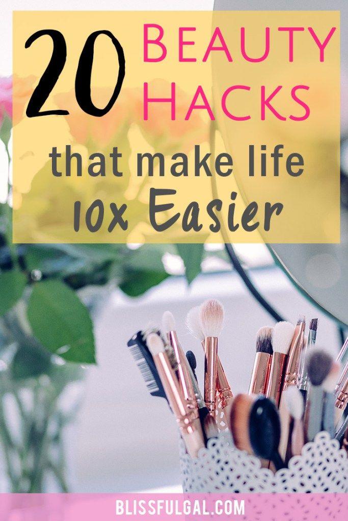 Beauty Hacks for Lazy Girls | Beauty Hacks | Lazy Girl Hacks | Simple makeup hacks | Makeup tips