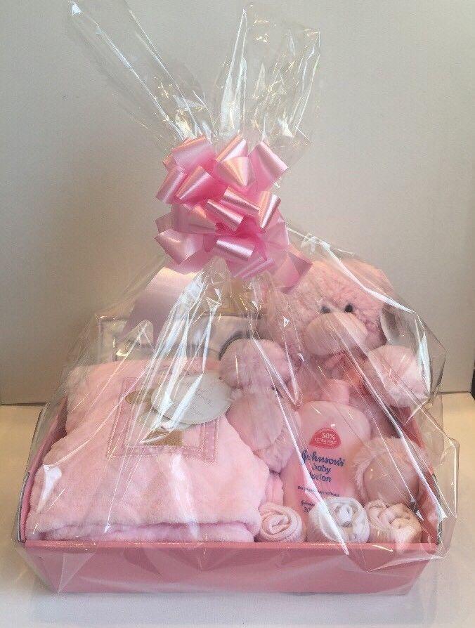 Baby Girl Gift Basket Baby Hamper Baby Shower Gift New Born Baby