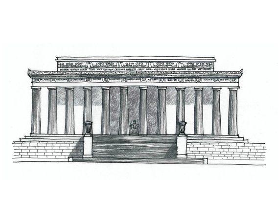 40+ Abraham lincoln monument clipart info