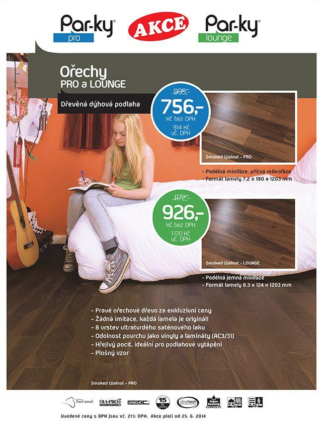 Ořech americký - PARKY PRO dýhová podlaha plovoucí Každá lamela je originál a ukrývá neopakovatelnost a hřejivost pravého dřeva.  http://podlahove-studio.com/pro/809-orech-americky-parky-pro-dyhova-podlaha-plovouci.html