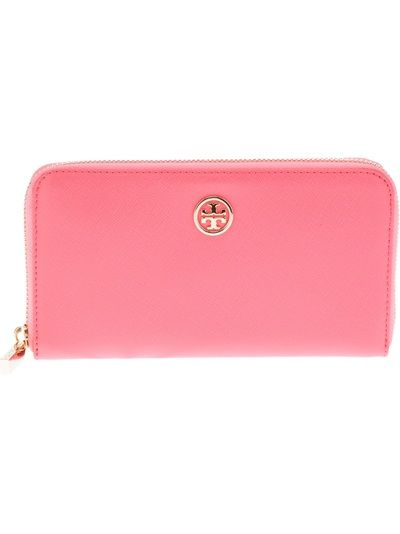 TORY BURCH - leather zip purse 6