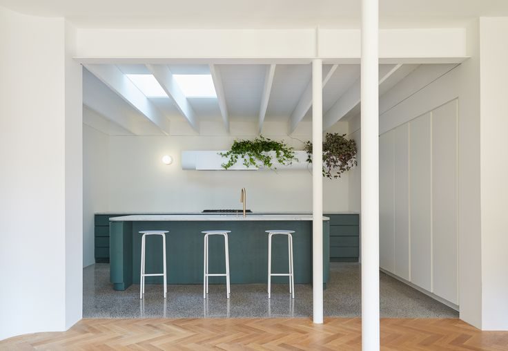 Photo 24 of 89 in Best Kitchen Colorful Photos from Villeneuve Residence - Dwell