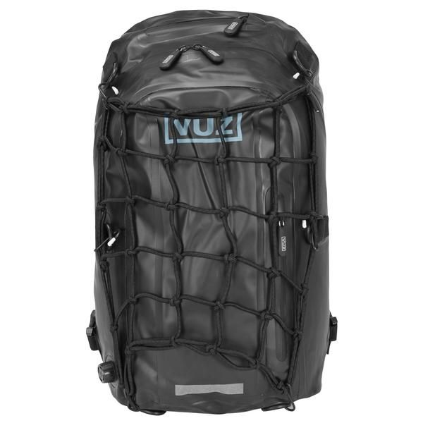 VUZ Motorcycle Backpack and magnetic tank bag cargo net
