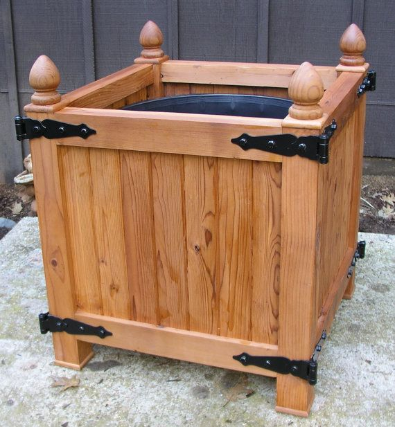 33 Best Images About Wood Planter Tree Box On Pinterest: 26 Best Images About Custom Planter Boxes On Pinterest