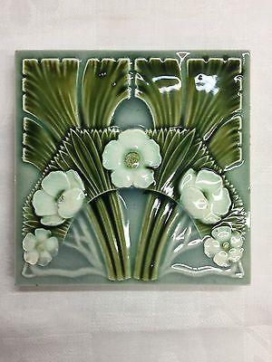 Jugendstil Fliese Kachel NSTG 15,2 x 15,2 cm