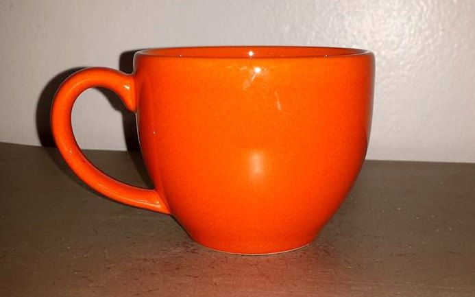 Vintage ORANGE Mug,Waechtersbach,West Germany,Waechtersbach Mug,HALLOWEEN Mug,Halloween Decor,Pumpkin Orange Cup,Orange Mug,Waechtersbach by JunkYardBlonde on Etsy