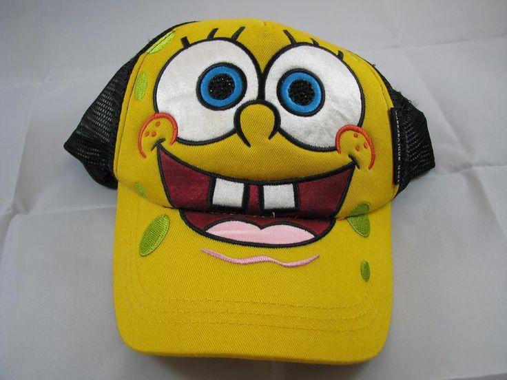 SPONGEBOB SQUAREPANTS BASEBALL HAT 14 and over #Nickelodeon #BaseballCap #spongebob #patrick