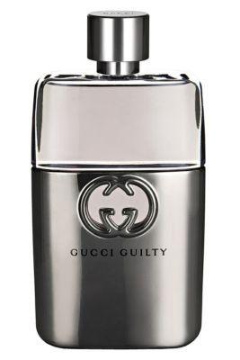 Gucci Guilty . Deze geur uit 2011 heeft een sterk citrus- en houtig karakter en heeft noten van lavendel, citroen ,oranjebloesem, cederhout en patchouli