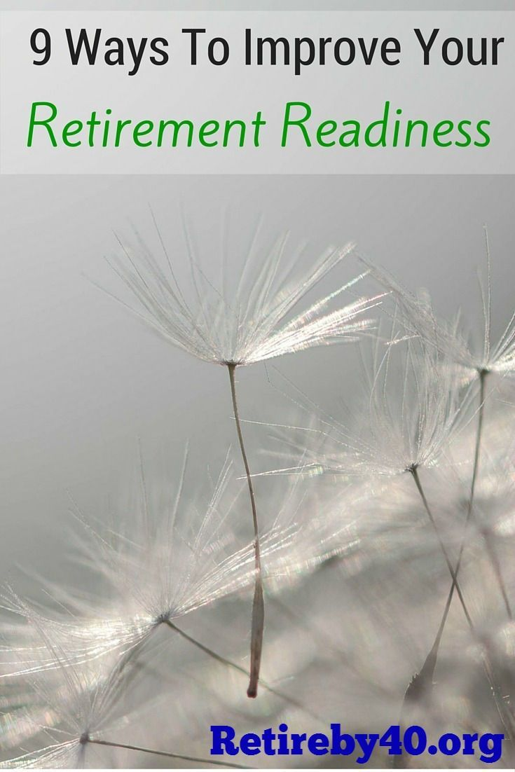 Steps to prepare yourself for retirement. Retirement, Saving for Retirement