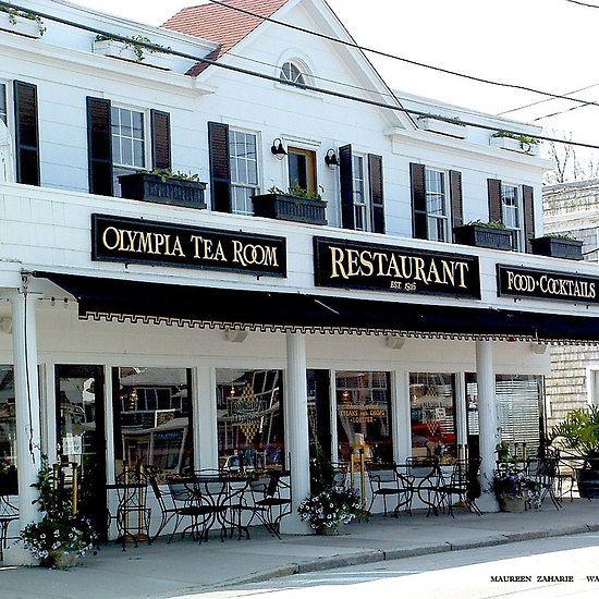 Olympia Tea Room Watch Hill, Rhode Island
