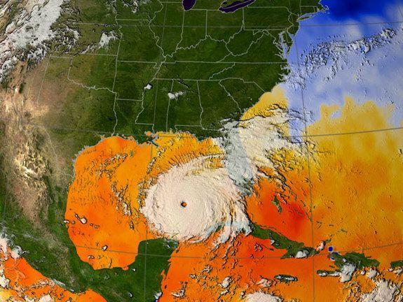Hurricane Rita, the High View