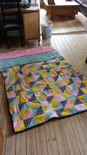 Et tæppe jeg har syet - forsiden