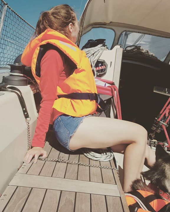 """www.frarina.com #sailing #sailingboat #sail #yacht #marina #photo #photography #instatravel #travelgram #follow #us #sailorgirl Hello there! I am Frank Cozzolino and with my beautiful girlfriend Marina we love to sail vlogging and documentary making. Together we founded our Youtube channel """"FRARINA"""" which is all about sport and outdoors activities and travel documentaries. Whereas FrancisCozzolino is my personal Youtube channel where I will post our vlogs. =======Youtube…"""