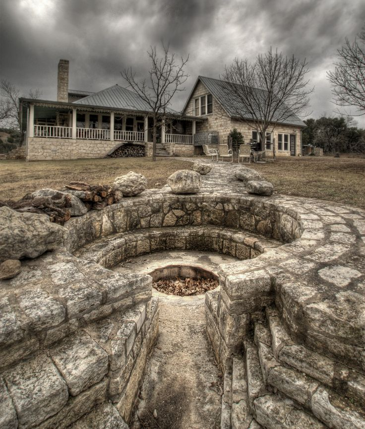 Texas Hill Country Home: 158 Best Fire Pits Images On Pinterest
