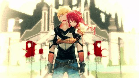 RWBY. I do have a limit and this was it :( YOU RUINED MY HEART