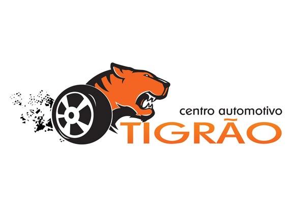 Logotipo Tigrão Centro Automotivo
