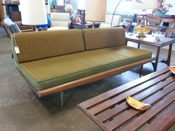Mid century modern day bed otto gerdau designed by for Modern day furniture