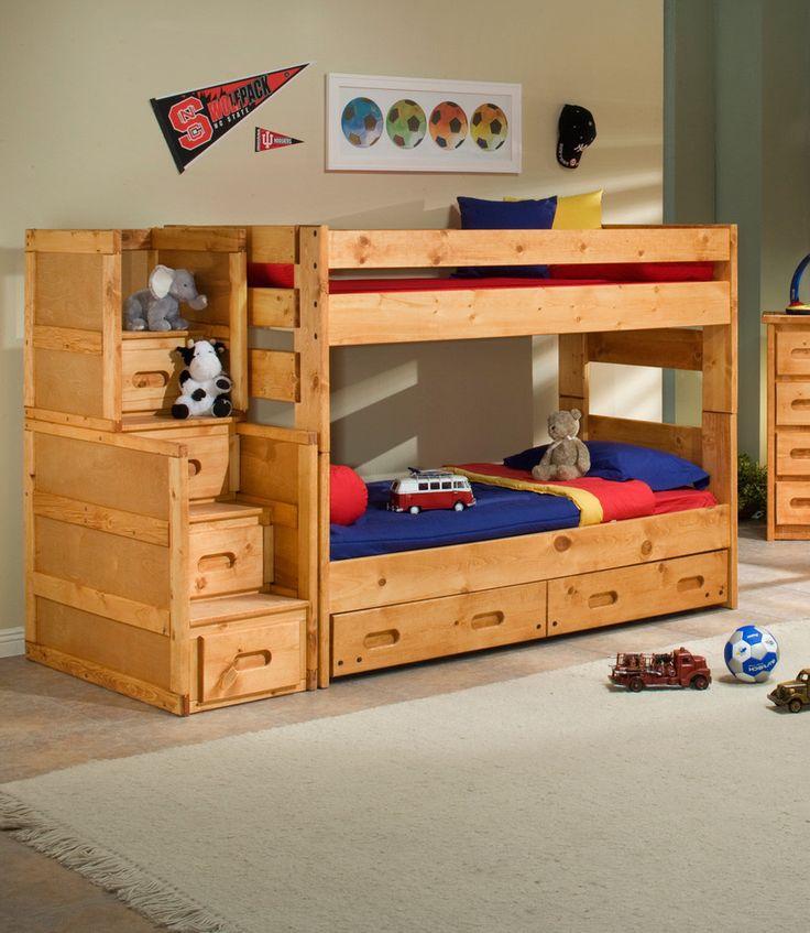 Deshalb Soll Man Sich Für Etagenbetten Im Kinderzimmer Entscheiden, Da Sie  Sehr Platzsparend Wirken. Dessen Design Findet Jedes... Hochbett Im  Kinderzimmer Good Ideas