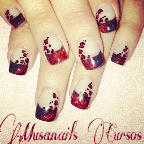 Acrilicas Esculturales con glitter y diseño #rojo#animalprint #acrilicas #nail #nailart #negro#glamour #chic #moda#clasico#elegante #uñas#organicnails #supernail#negro#glitter http://decoraciondeunas.com.mx #moda, #fashion, #nails, #like, #uñas, #trend, #style, #nice, #chic, #girls, #nailart, #inspiration, #art, #pretty, #cute, uñas decoradas, estilos de uñas, uñas de gel, uñas postizas, #gelish, #barniz, esmalte para uñas, modelos de uñas, uñas decoradas, decoracion de uñas, uñas pintadas…