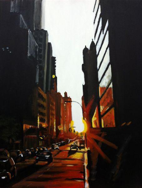 Angela Wakefield - Urban Landscapes