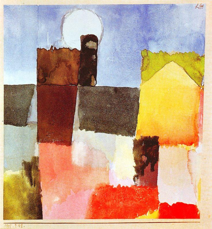 Moonrise Paul Klee