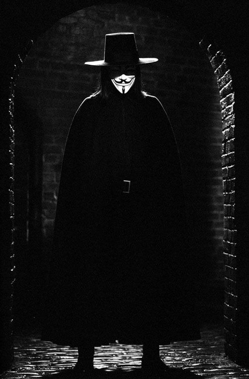 V for Vendetta such an awesome movie!