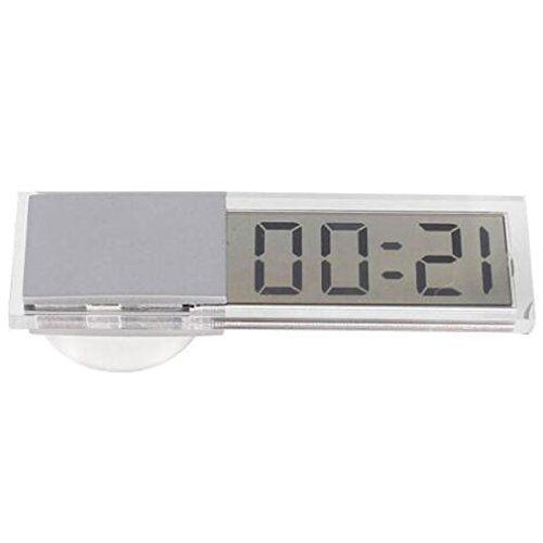Support Ventouse Transparent écran LCD numérique de voiture Horloge électronique: Facilité d'installation, à l'arrière de la table a une…