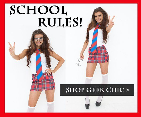 |Get back to school with our sexy School Girl Fancy Dress Costumes! xx