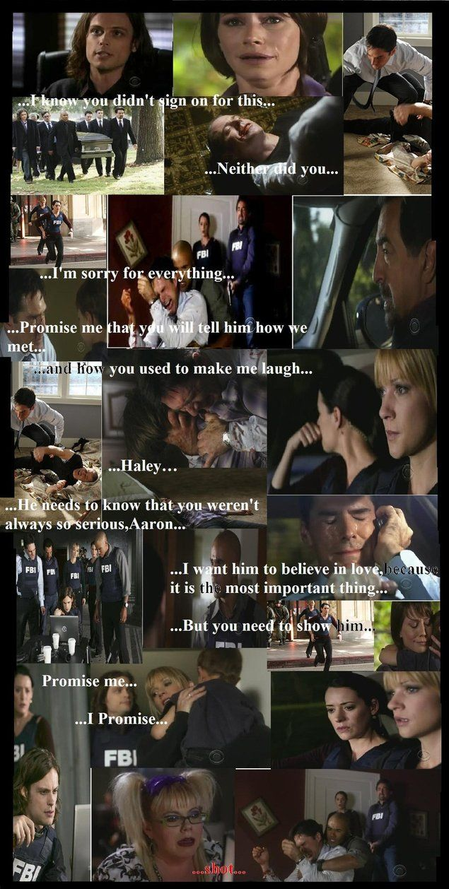 I never liked Haley, but I still cried my eyes out when she died.  I think that't the first time I ever cried for a TV show.