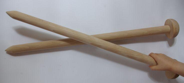 Duże druty / Big knitting needles