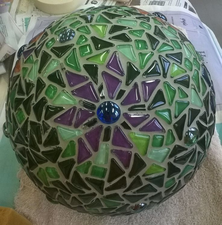 My first garden ball