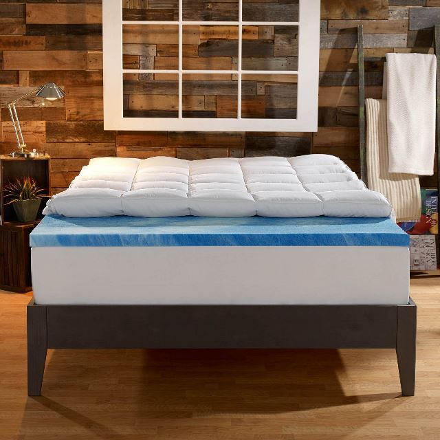Our Rating: (9.0 / Out Of 10)  There are a wide variety of mattress toppers available today. Some are thick, some thin, some cooling, and some specifically for back pain. It's agreeable that finding the right one can be a tough decision, especially since you don't really know everything about it before you buy it. This is where I come in. The Sleep Innovations 4 inch dual layer mattress topper was personally tested by me and I want to share my experience with you.  Intro Video Review The…