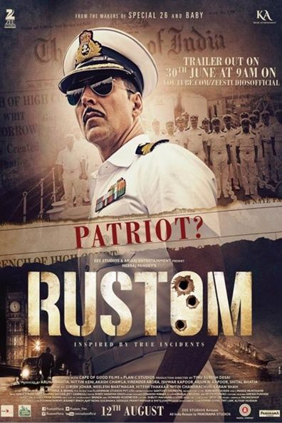Rustom Pavri, an honourable officer of the Indian Navy shoots his friend Vikram to death after discovering that his wife Cynthia had an affair with the rich businessman. The Commander surrenders himself to the Police immediately and admits to have killed Vikram but pleads 'not guilty' in court. Is he convicted or acquitted? shares Love …