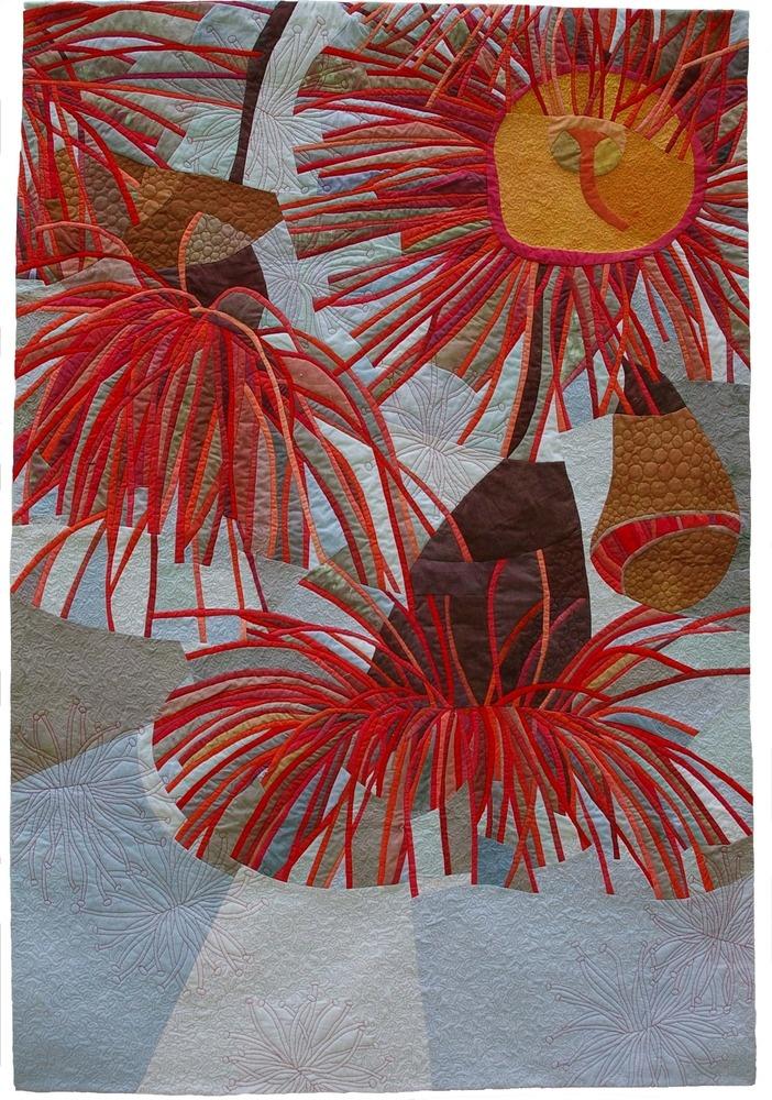 A quilt by Ruth de Vos