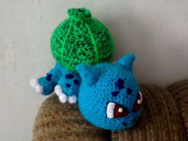 Horgolt Bulbasaur II. (Crocheted Bulbasaur) #crochet #amigurumi #baby #bulbasaur #cute #pokemon